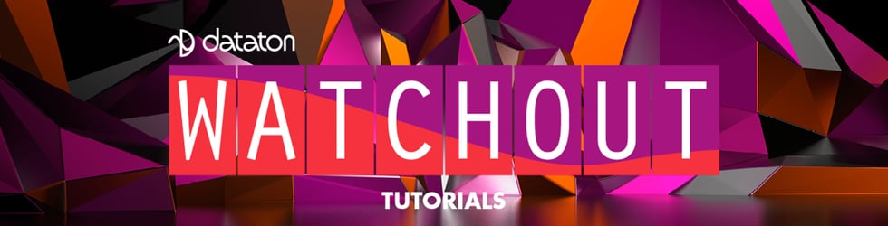 Dataton WATCHOUT tutorials