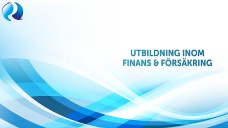 Utbildning inom finans & försäkring