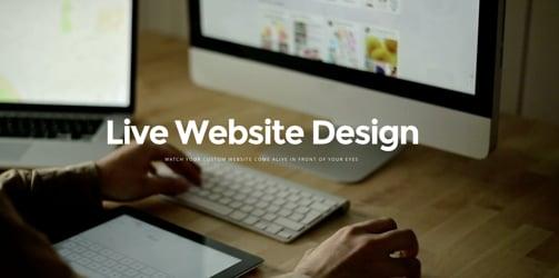 Live Website Design