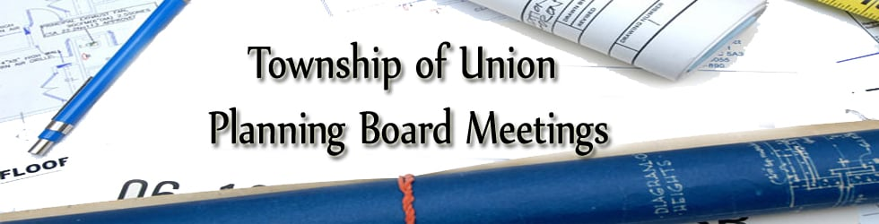 Township of Union  Planning Board Meeting