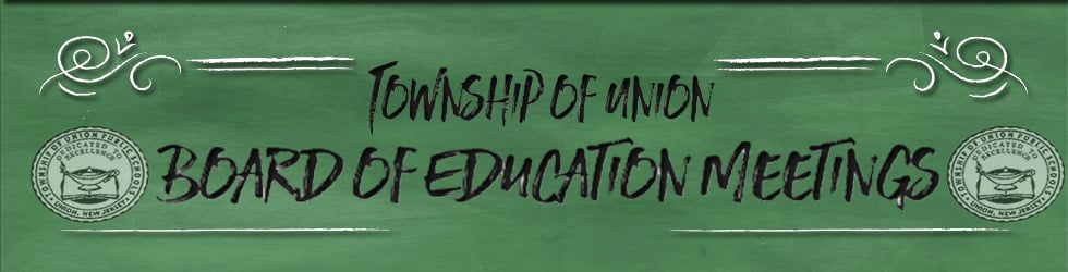 Township of Union Board of Education Meetings