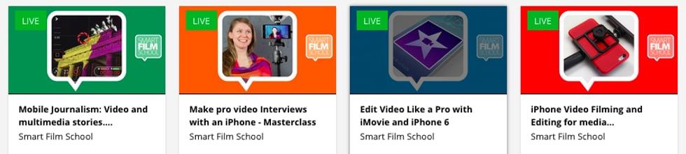 Smart Film School - Make Smartphone Video Like a Pro