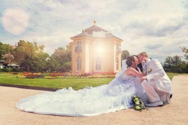 Russische  und deutschе Hochzeit
