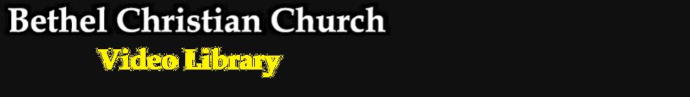 Sermons by Ken Stokes, Sr. Pastor.