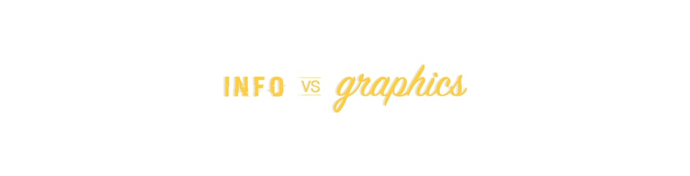 Info vs graphics