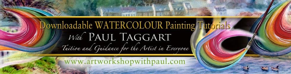 artworkshopwithpaul - WATERCOLOUR painting tutorials