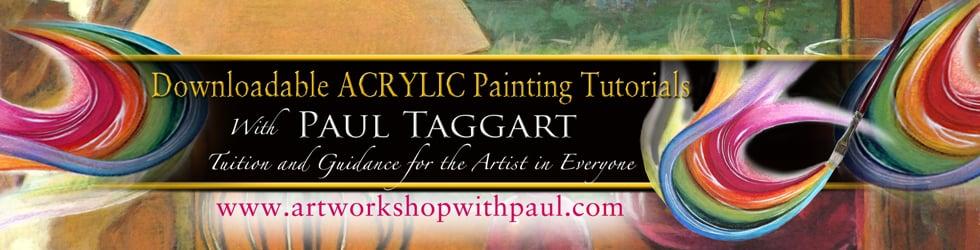 artworkshopwithpaul - ACRYLIC painting tutorials