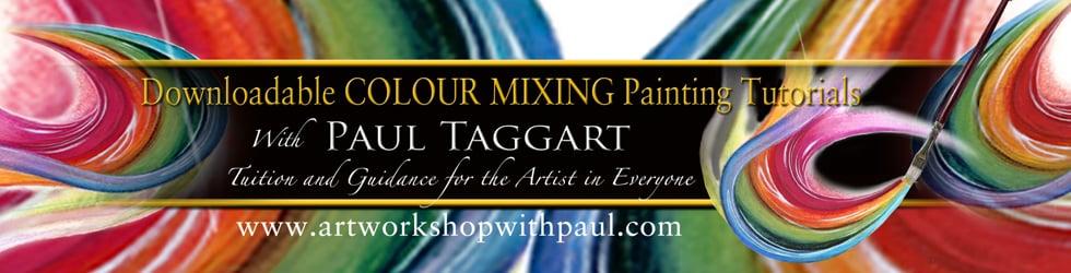 artworkshopwithpaul - COLOUR MIXING painting tutorials
