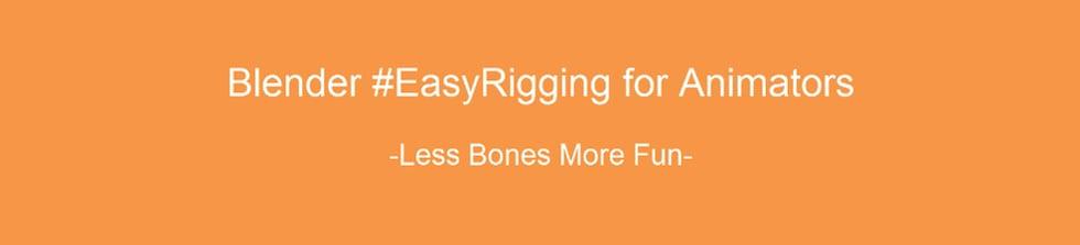 EasyRigging Blender