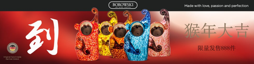 Zodiac Collection with Borowski Art Glass