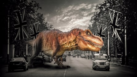 Dinosaur themed Augmented Reality experiences - for Entertainment, Education and Marketing