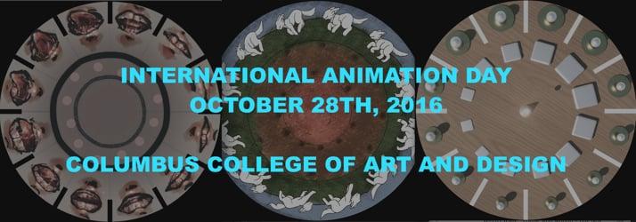 CCAD Animation- International Animation Day