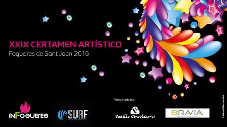 Concurso Artístico Fogueres de Sant Joan