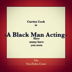 -A Black Man Acting-