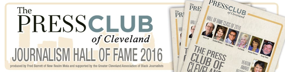 Press Club of Cleveland Journalism Hall Of Fame Induction 2016