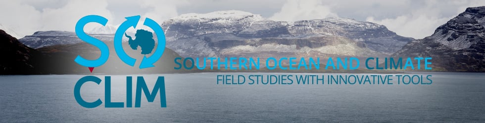 SOCLIM - SOUTHERN OCEAN AND CLIMATE FIELD STUDIES WITH INNOVATIVE TOOLS