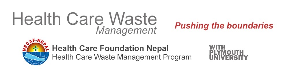 thesis on health care waste management Thesis pwerpoint - free download as the intent of this paper is to raise the awareness er regarding the importance of proper health care waste e management.