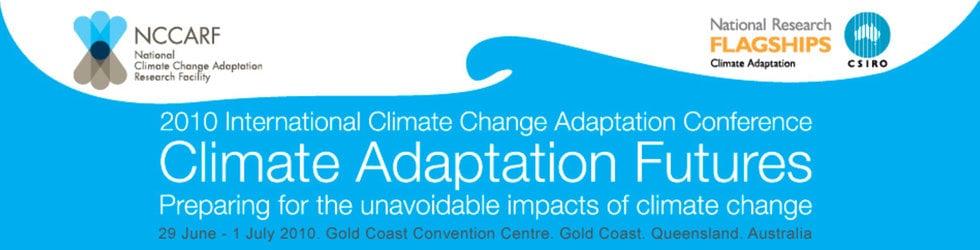 NCCARF - 2010 International Climate Change Adaptation Conference