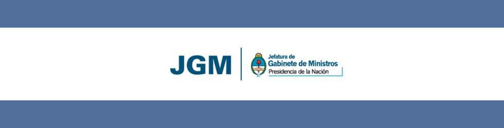 JGM - JEFATURA DE GABINETE DE MINISTROS