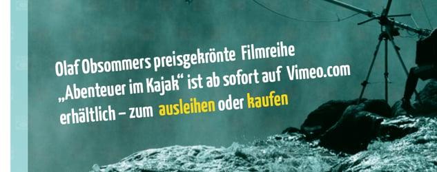 Abenteuer Kajak - Filme von Olaf Obsommer