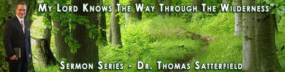 Sermon Series: My Lord Knows The Way Through The Wilderness