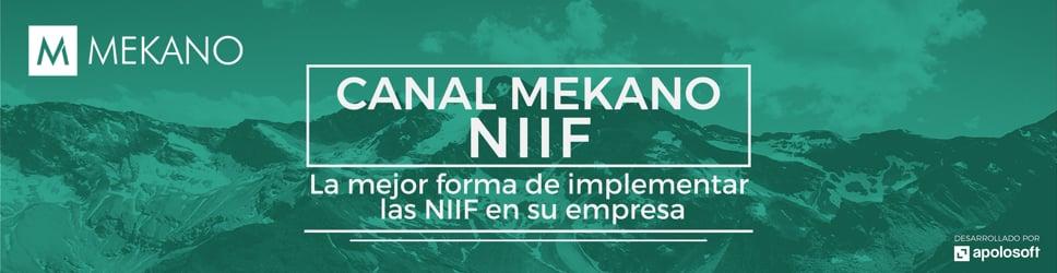 Canal Mekano NIIF