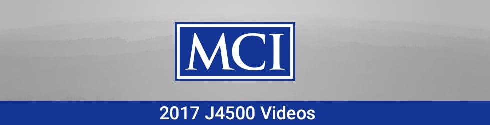 2017 MCI J4500 Driver's Videos