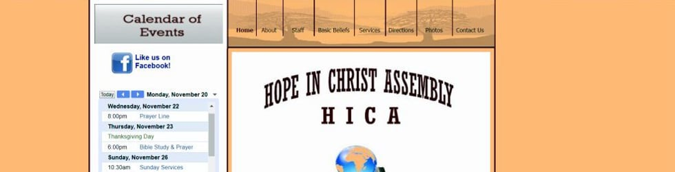 Hope In Christ Assembly