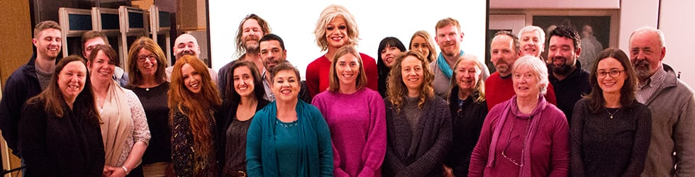 Pantisocracy - a cabaret of conversations hosted by Panti Bliss