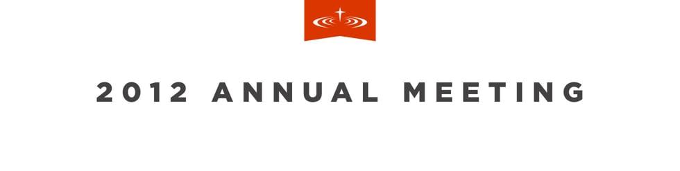 2012 Annual Meeting: Awaken