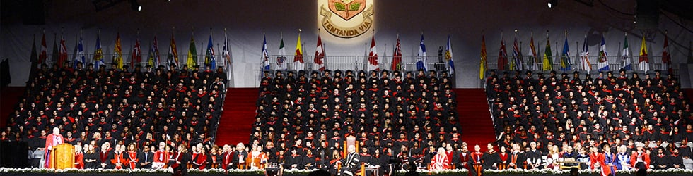 2018 York University Convocation