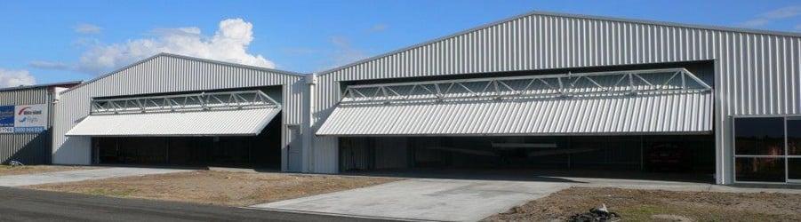 Higher Power Hangar Doors