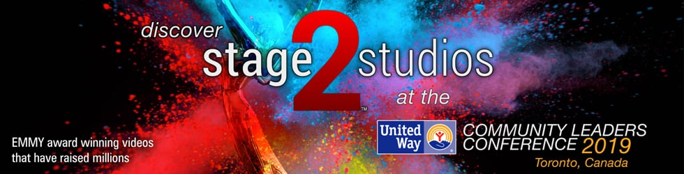 Stage 2 Studios EMMY award winning Fundraising / United Way Campaigns