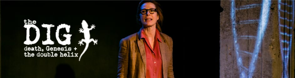 Stacie Chaiken's : The Dig: death, Genesis + the double heliX