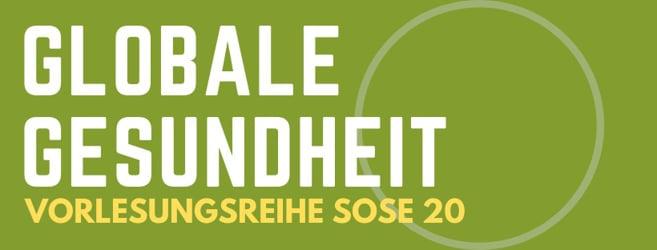 """Vorlesungsreihe """"Einführung in die Globale Gesundheit"""" - Studentische Initiative für Globale Gesundheit Frankfurt/Main"""