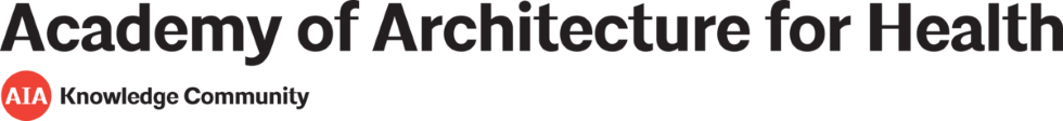 Academy of Architecture for Health Webinars