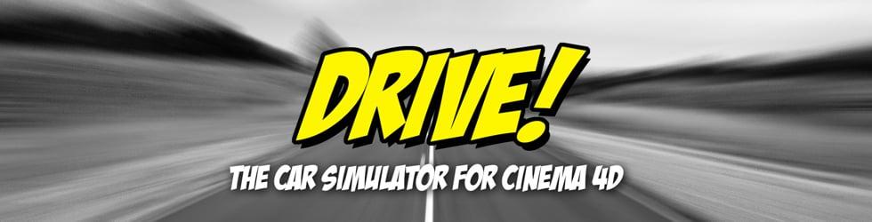 DRIVE! - The Car Simulator for Cinema 4D