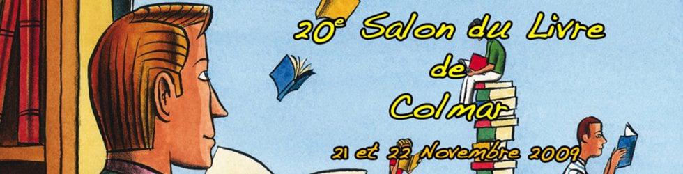 Salon du Livre de Colmar 20ème édition (2009)