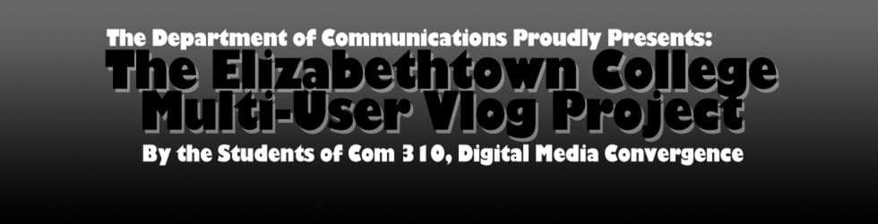 Elizabethtown College Multi-User Vlog