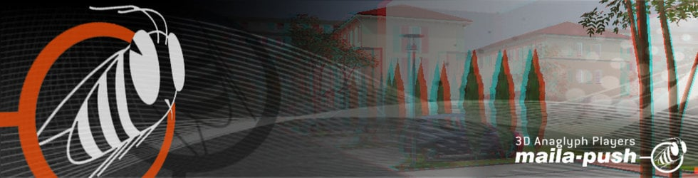 maila-push 3D Realtime Interative Players (Anaglyph 3D)