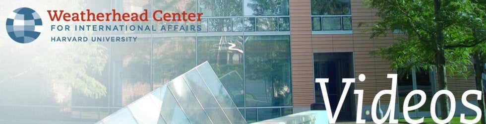 Weatherhead Center for International Affairs