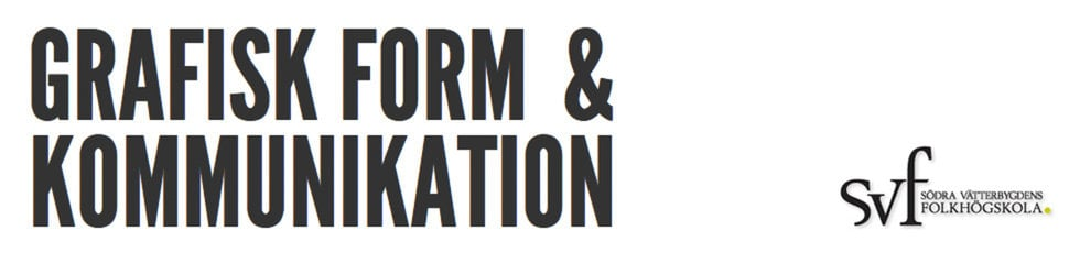 Grafisk form & kommunikation