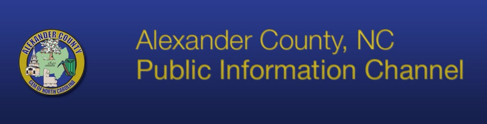Alexander County, NC Public Information Channel