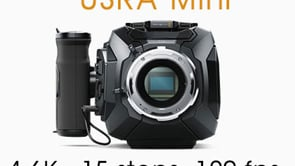 URSA Mini 4.6K footage