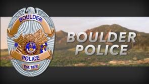 City of Boulder Police Department