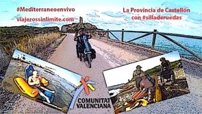 Por la Comunitat Valenciana en silla de ruedas y handbike