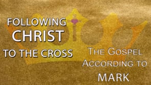 """""""Following Christ to the Cross"""""""