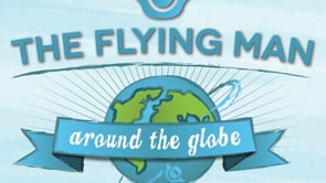 △The Flying Man_around the Globe!