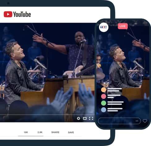 Diffusion en direct d'événements sur LinkedIn et Facebook simultanément depuis Vimeo