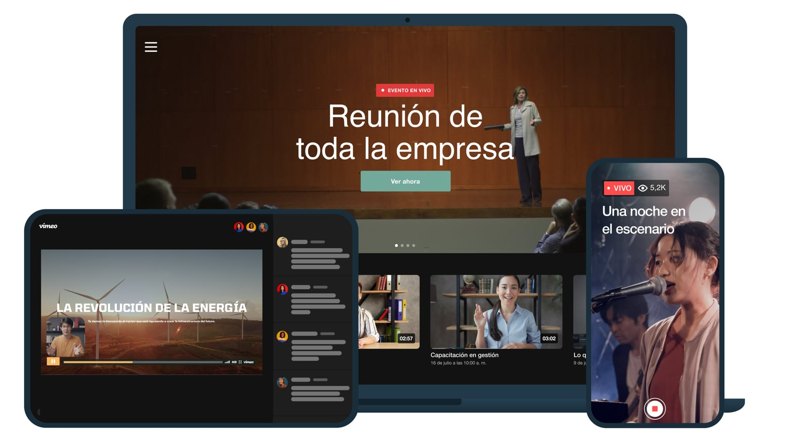 Vimeo   Creador de videos online